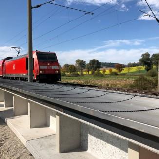 Duitsland – Pilot naast spoor bij Rosenheim (Beieren)